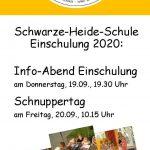 Info-Abend und Tag der offentür am 19./20. September